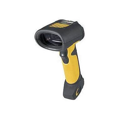 MOTOROLA LS3408-FZ20005R Twilight Black/Yellow Handheld Retrocollective Rugged Barcode Scanner