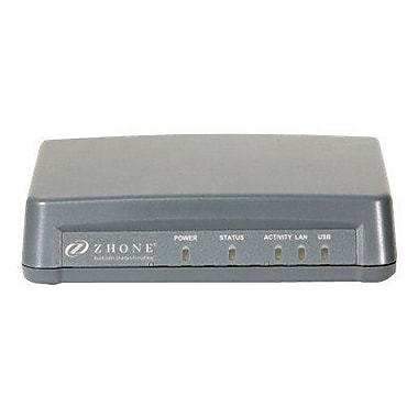 Zhone® Single Port Bridge/Router With USB (6381-A5-200)