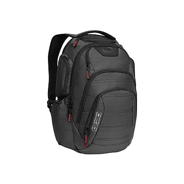 OGIO® Renegade RSS 111059.03 Backpack For 17in. Laptop, Black