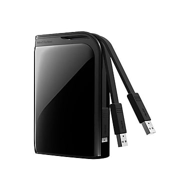 Buffalo™ MiniStation™ HD-PZ1.0U3B Extreme Portable Hard Drive, 1 TB