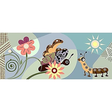 Printfinders Cycles of Life by Lanre Adefioye Graphic Art on Canvas; 15'' x 36''