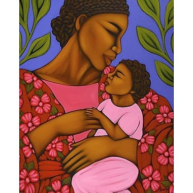 Printfinders Mother and Baby by Tamara Adams Painting Print on Canvas; 20'' x 16''