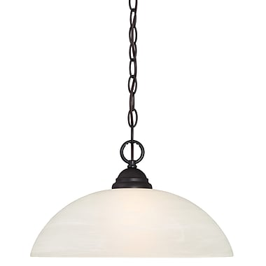 Designers Fountain Kendall 1 Light Mini Pendant; Oil Rubbed Bronze
