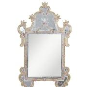 Elegant Lighting Murano Wall Mirror; Gold