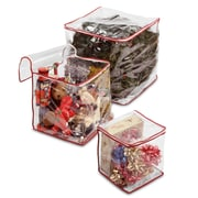 National Tree Co. 3 Piece Clear View Storage Bag Set