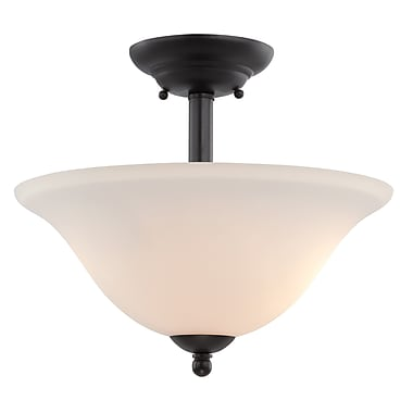 Designers Fountain Addison 2 Light Semi-Flush Mount