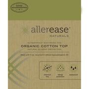 AllerEase Naturals Organic Cotton Waterproof Mattress Pad; Twin