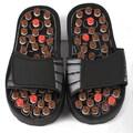 Deluxe Comfort Reflexology Rotating Massage Head Sandal; Medium