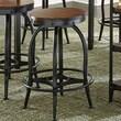 Steve Silver Furniture Winston Counter Height Swivel Bar Stool