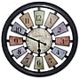 Westclox Kaleidoscope 18'' Wall Clock