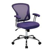 Office Star Ave Six 17.5'' Mesh Juliana Task Chair with Mesh Seat; Purple