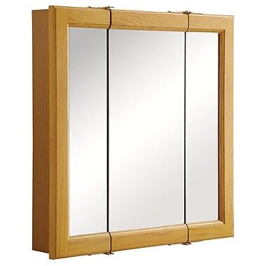 Design House Claremont 24'' x 24'' Tri-View Medicine Cabinet