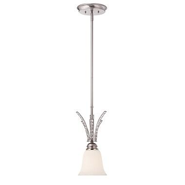 Designers Fountain Grand Plazza 1-Light Mini Pendant
