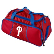 Logo Chairs MLB Athletic 12'' Gym Duffel; Philadelphia Phillies