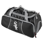 Logo Chairs MLB Athletic 12'' Gym Duffel; Chicago White Sox