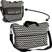 Logo Chairs MLB Chevron Expandable Tote; Chicago White Sox