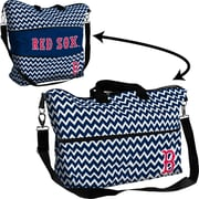 Logo Chairs MLB Chevron Expandable Tote; Boston Red Sox