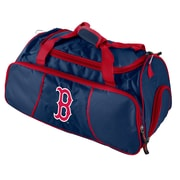 Logo Chairs MLB Athletic 12'' Gym Duffel; Boston Red Sox