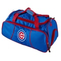 Logo Chairs MLB Athletic 12'' Duffel; Chicago Cubs