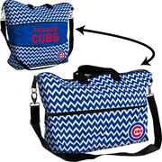 Logo Chairs MLB Chevron Expandable Tote; Chicago Cubs