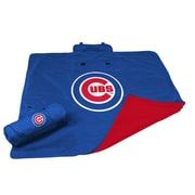 Logo Chairs MLB Chicago Cubs All Weather Fleece Blanket