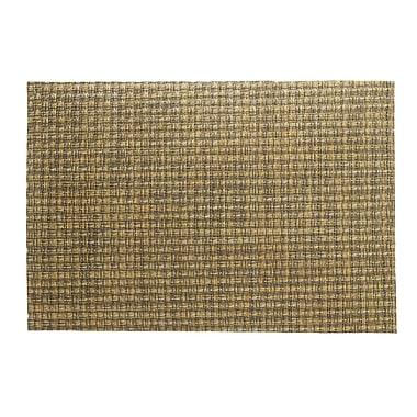 Kraftware Woven Placemat (Set of 4); Copper