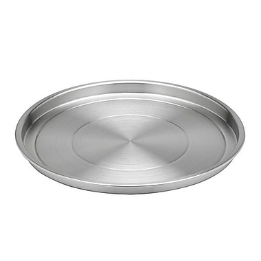 Kraftware 12'' Stainless Steel Round Serving Tray