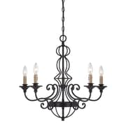 Designers Fountain Tangier 5 Light Candle-Style Chandelier
