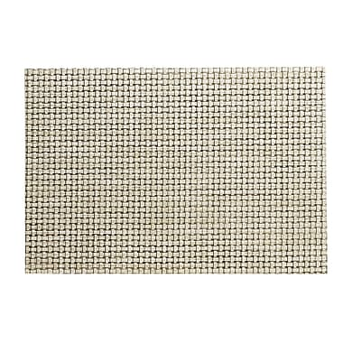 Kraftware Woven Placemat (Set of 4); Pearl