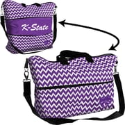 Logo Chairs NCAA Expandable Tote; KS State