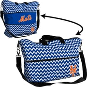 Logo Chairs MLB Chevron Expandable Tote; New York Mets