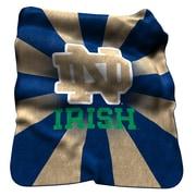 Logo Chairs NCAA Notre Dame Raschel Throw