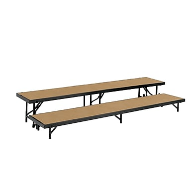 National Public Seating RS2LHB Portable Risers
