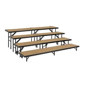 National Public Seating RS4LHB Portable Risers