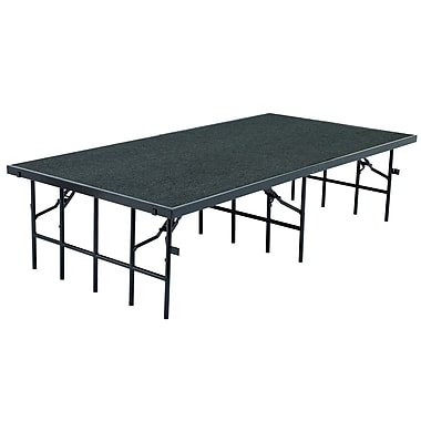 National Public Seating S36C-02 Portable Stages, Gray