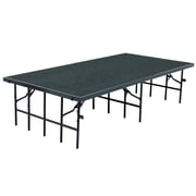"National Public Seating S368C-02 36"" Portable Stages, Gray"