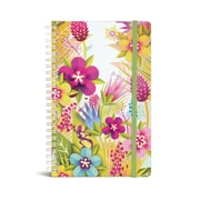 "Bookjigs Hard-cover Spiral-Bound Notebook, 8"" x 5"", Paradise"