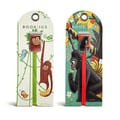 Bookjigs 2-piece Go Bananas / Silverback Bookmark Set