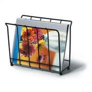 Spectrum Diversified Wire Magazine / Newspaper Caddy
