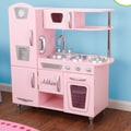KidKraft Personalized Pink Vintage Kitchen; Oval