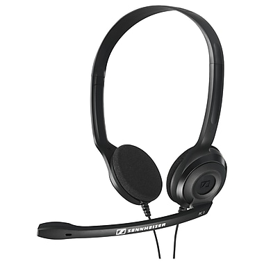 Sennheiser PC 3 CHAT 504195 Wired Single-Sided Analog Headset, Black