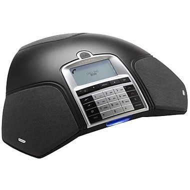 Konftel 910101059 Single Line Conference Phone, Charcoal Black