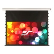 Elite Screens® Starling Tension STT135UWH-E6 Projection Screen, 16:9, Black