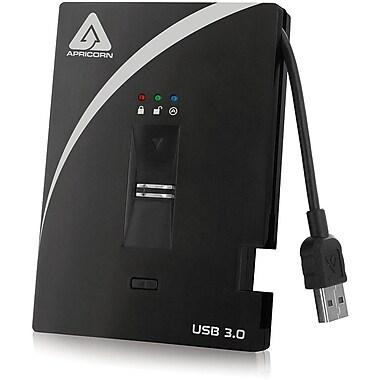 Apricorn 1TB External USB 3.0 Hard Drive With AES-XTS Hardware Encryption (Black)
