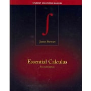 Essential Calculus : Early Transcendentals by James Stewart (2012, Hardcover,...