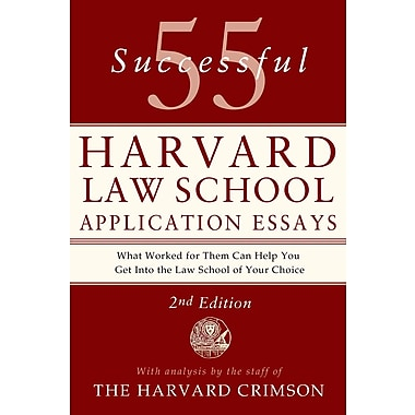 55 successful harvard law school application essays pdf