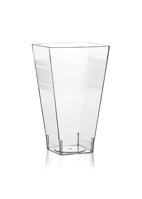 Fineline Settings Wavetrends 1108 Square Tumbler, Clear 1247678