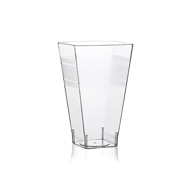 Fineline Settings Wavetrends 1108 Square Tumbler, Clear