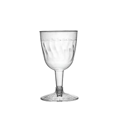 Fineline Settings Flairware 2206 Wine Goblet, Clear