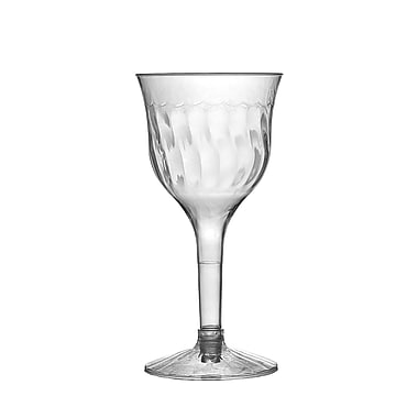 Fineline Settings Flairware 2207 Wine Goblet, Clear